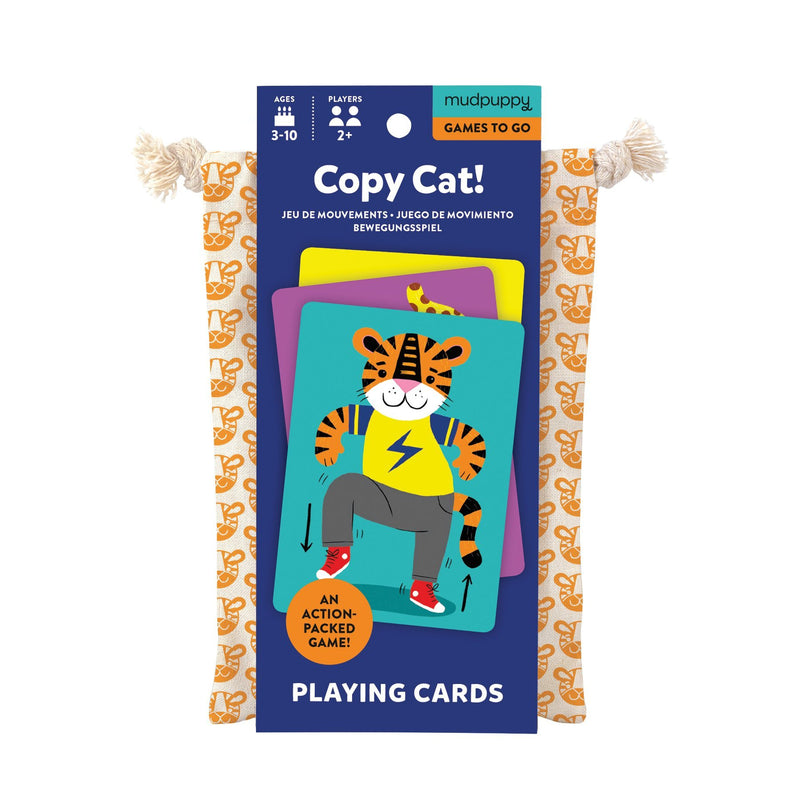 Copy Cat! Playing Cards to Go Playing Cards Mudpuppy