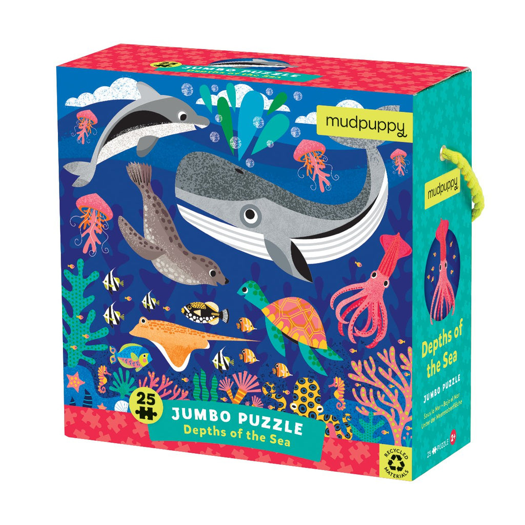Depths of the Sea Jumbo Puzzle Jumbo Puzzles Mudpuppy