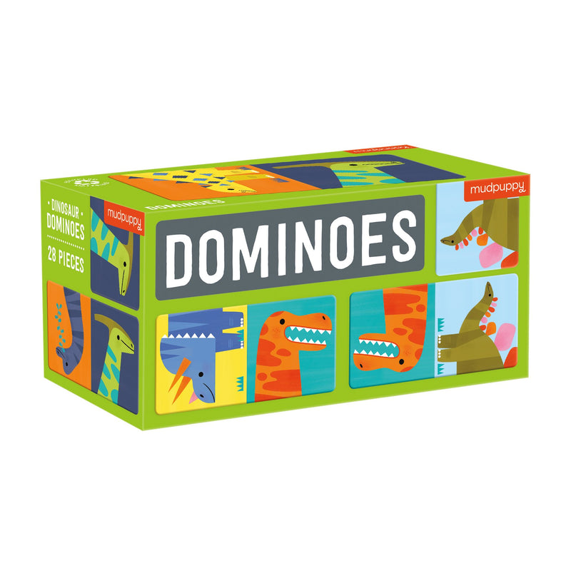 Dinosaur Dominoes Dominoes Mudpuppy