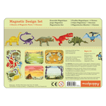 Dinosaurs Magnetic Design Set Magnetic Tin Playsets Mudpuppy