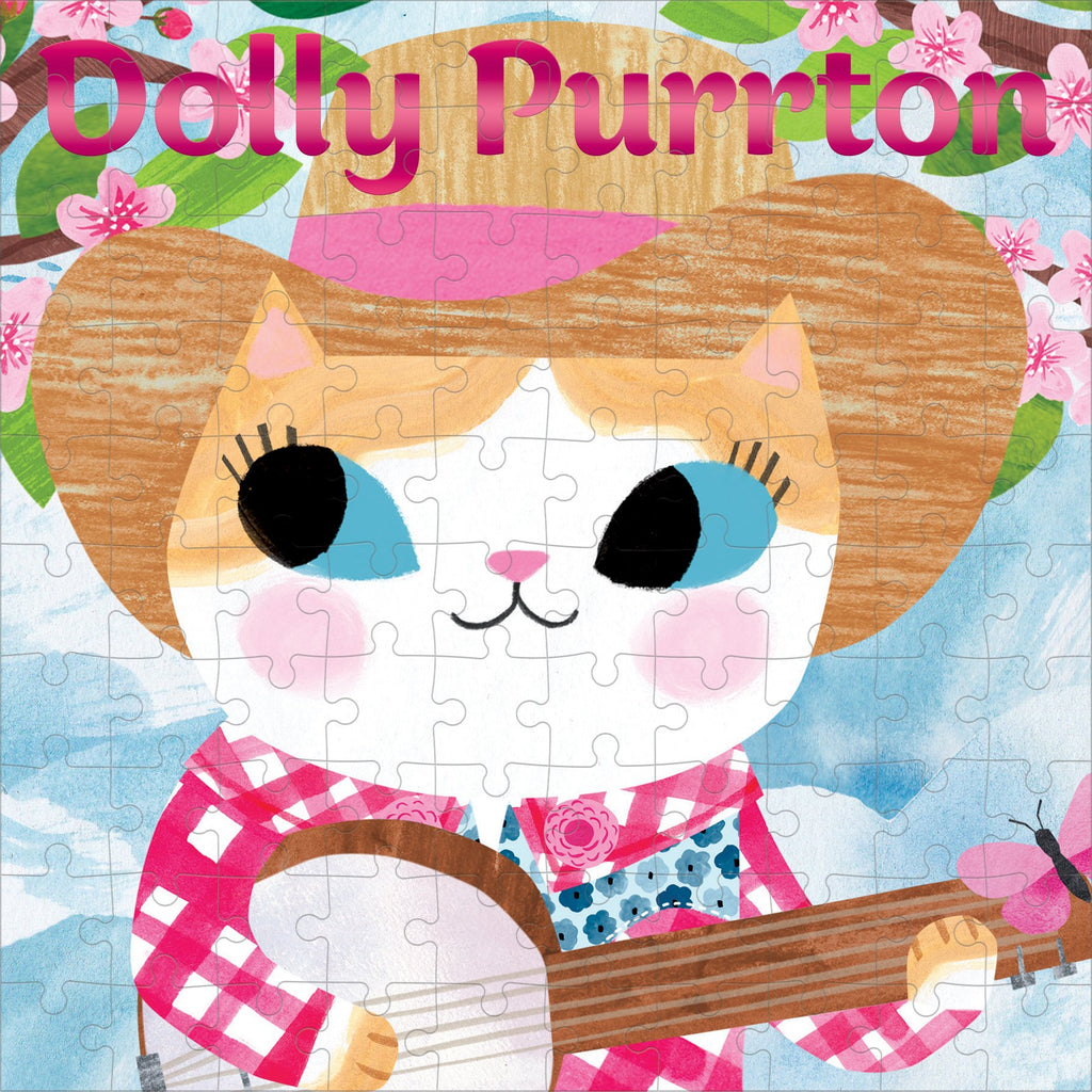 Dolly Purrton Music Cats 100 Piece Puzzle 100 Piece Puzzles Mudpuppy