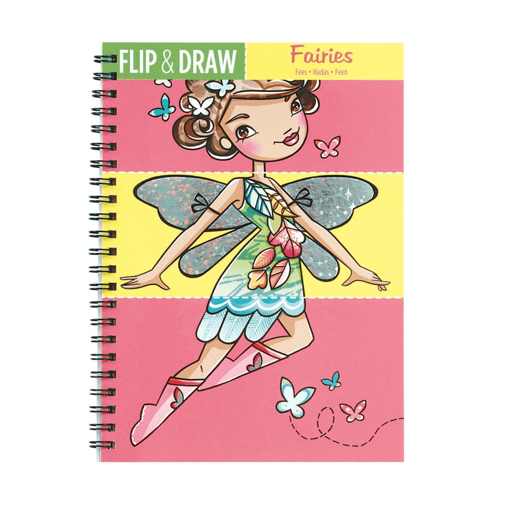 Fairies Flip & Draw Flip & Draws Mudpuppy