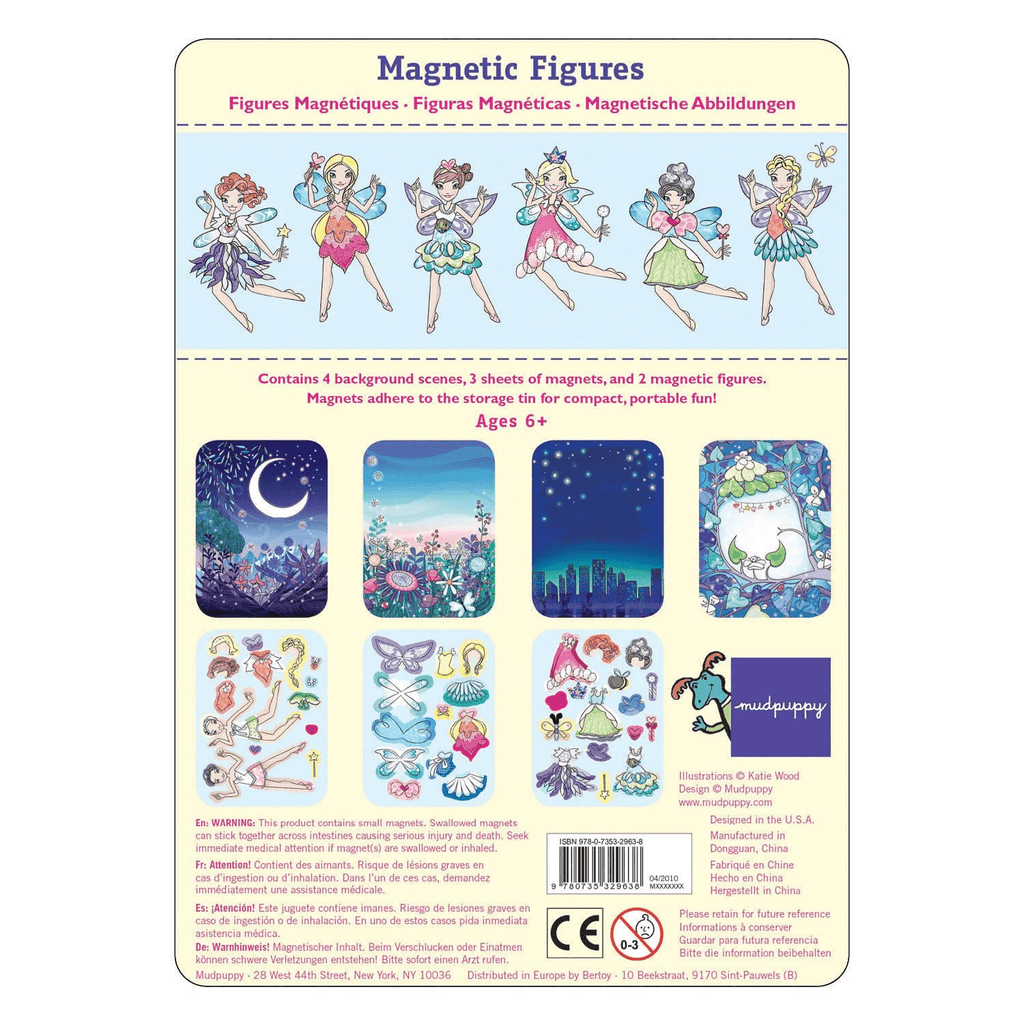 Fairies Magnetic Figures Magnetic Tin Playsets Mudpuppy