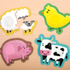 Farm Animals My First Touch & Feel Puzzles My First Touch & Feel Puzzles Mudpuppy