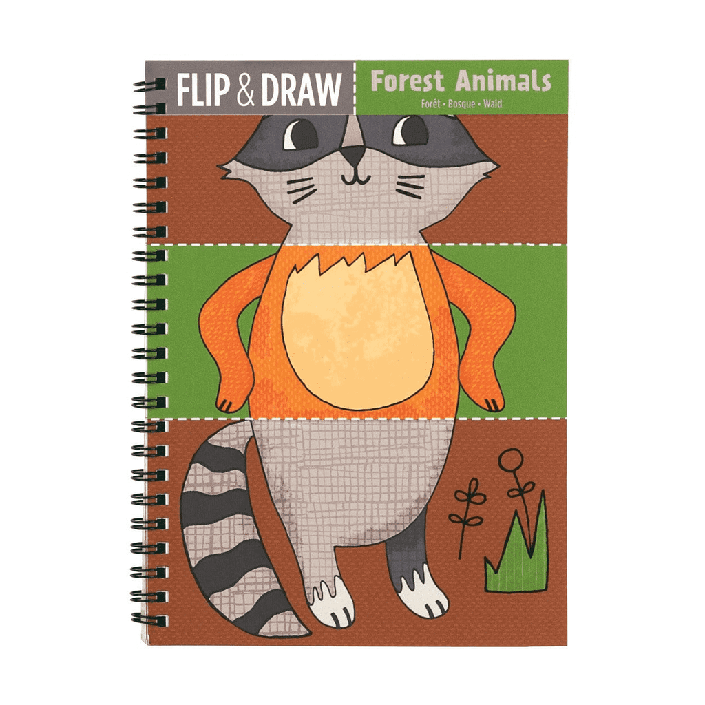 Forest Animals Flip and Draw sale Mudpuppy