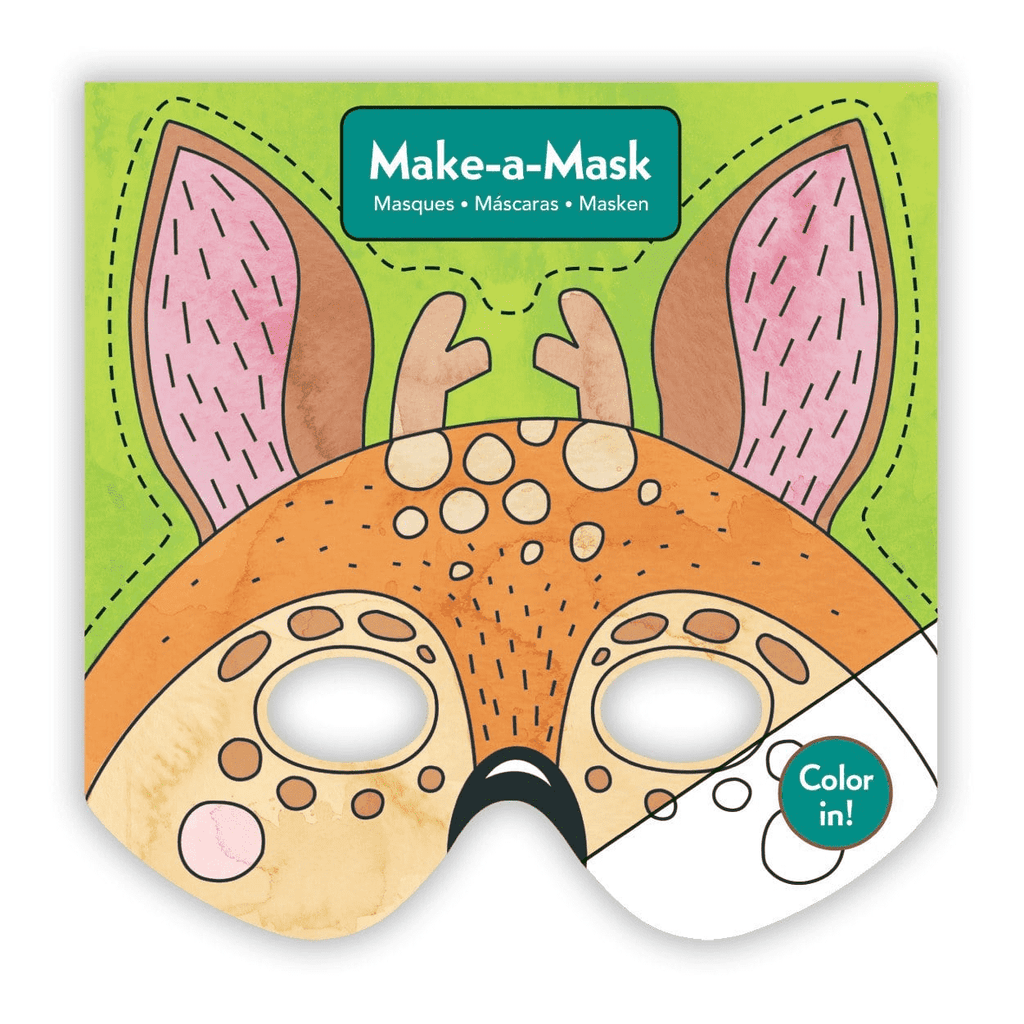 Forest Animals Make-a-Mask Make a Masks Mudpuppy