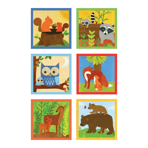 Forest Friends Block Puzzle Block Puzzles Mudpuppy