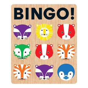 Geometric Animals My First Bingo Bingo Games Mudpuppy