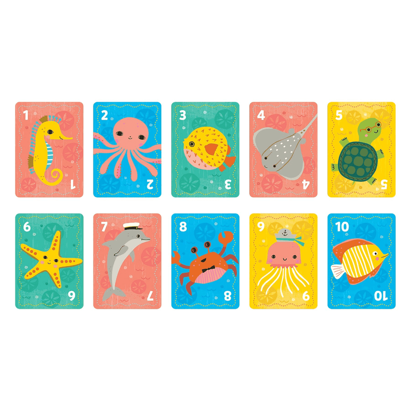 Go Fish! Playing Cards to Go Playing Cards Mudpuppy