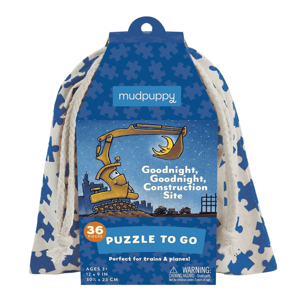 Goodnight, Goodnight, Construction Site Puzzle to Go Puzzles to Go Mudpuppy