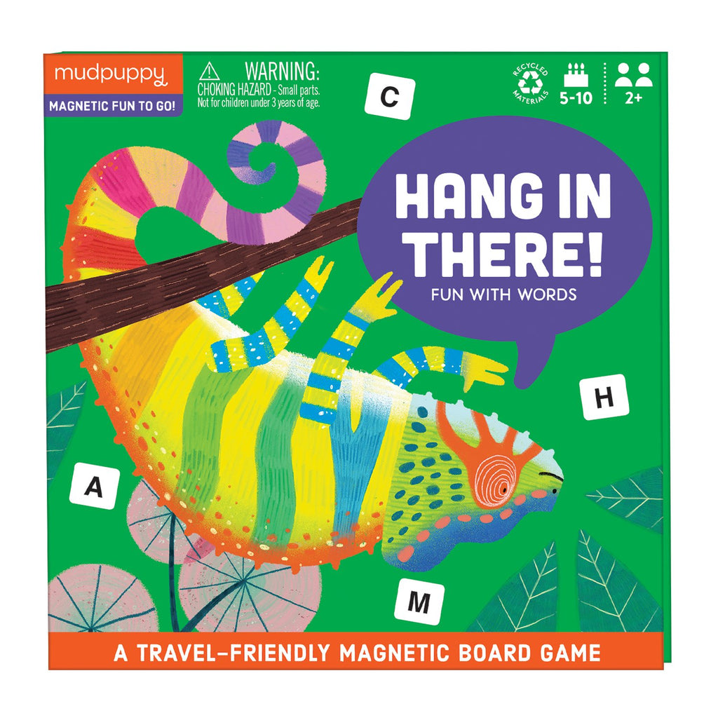 Hang in There! Magnetic Board Game Board Games Mudpuppy