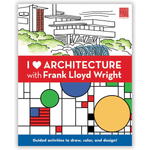 I Heart Architecture With Frank Lloyd Wright Activity Book Activity Books Mudpuppy