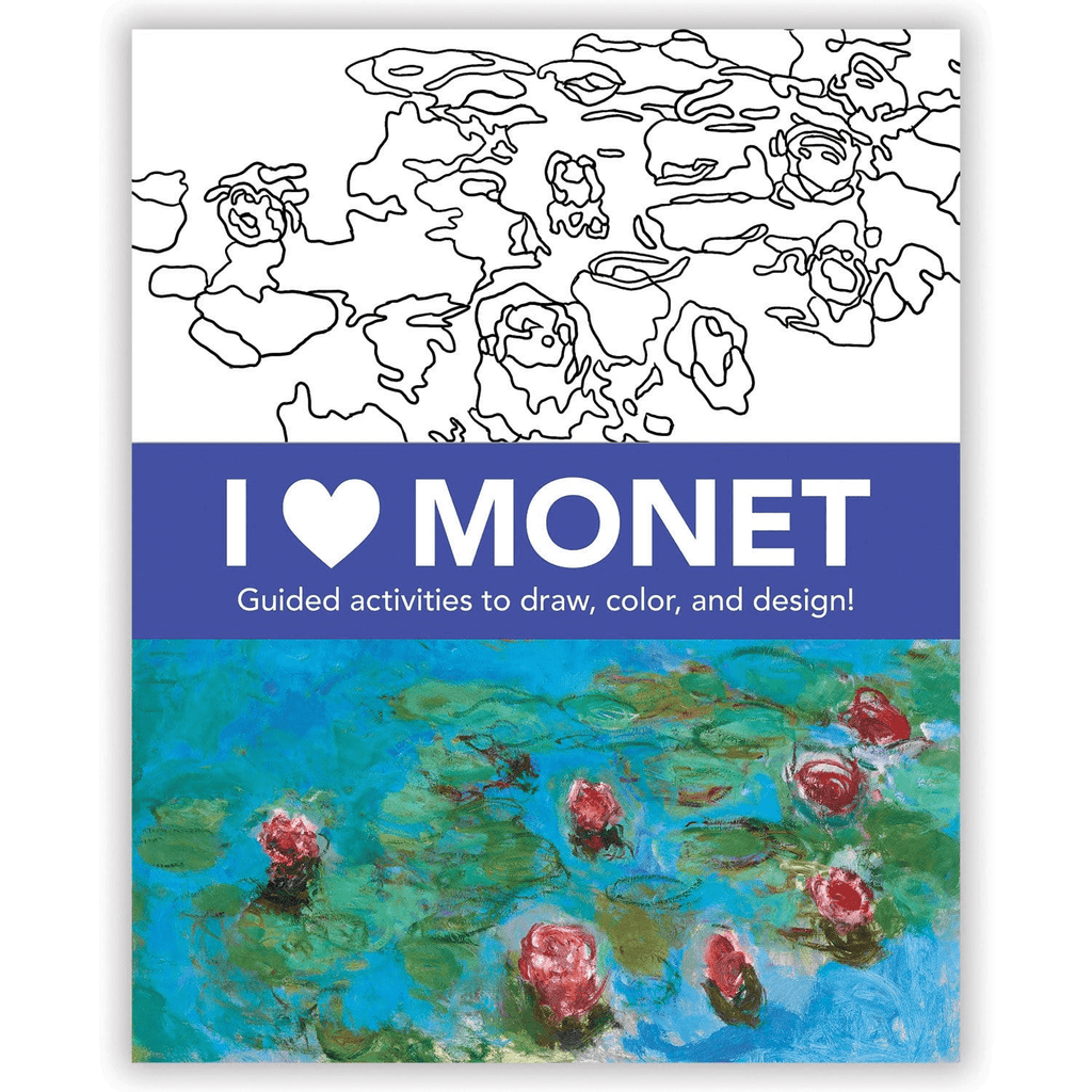 I Heart Monet Activity Book Activity Books Mudpuppy