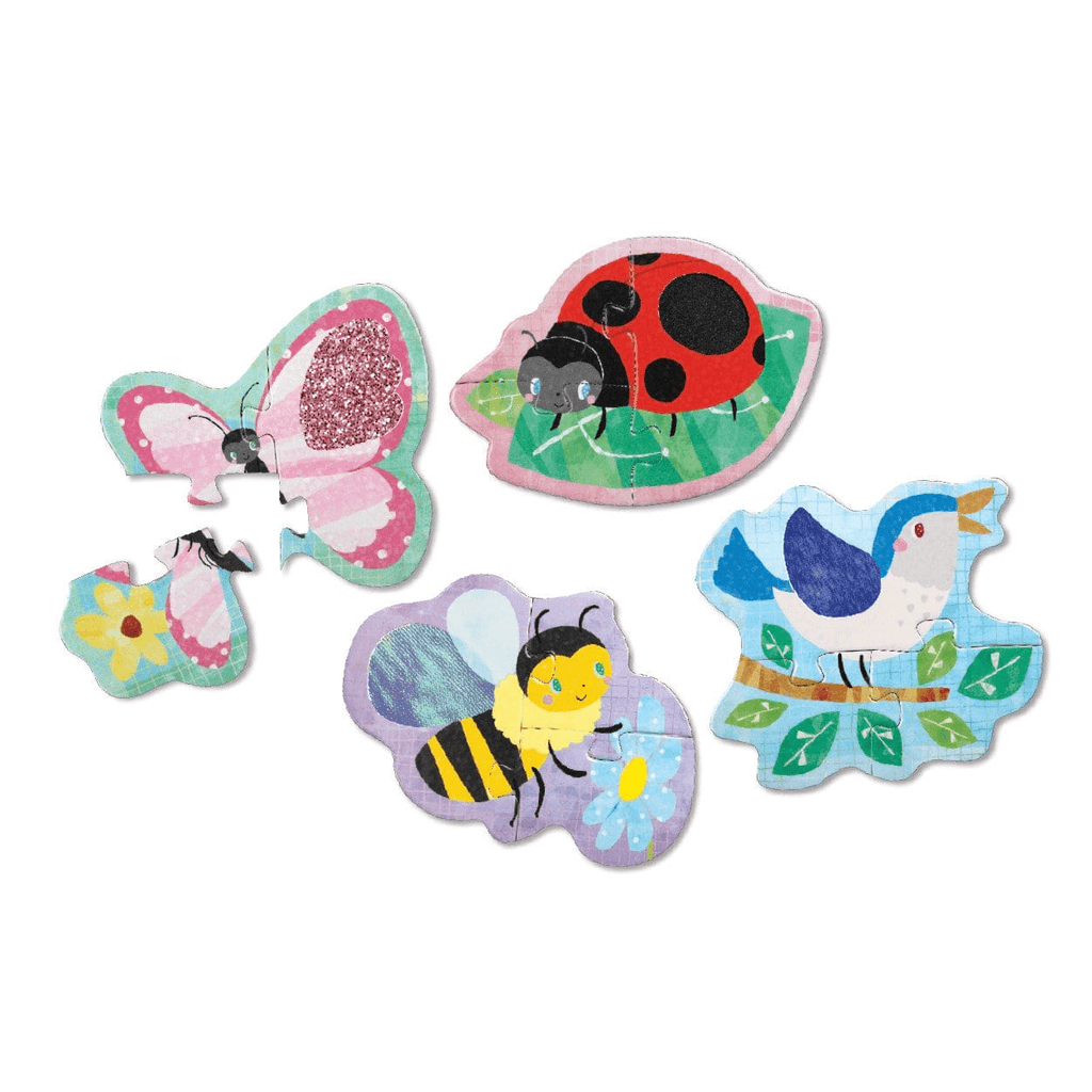 In The Garden My First Touch & Feel Puzzles My First Touch & Feel Puzzles Mudpuppy