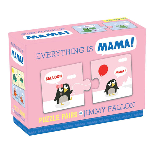 Jimmy Fallon Everything is Mama Puzzle Pairs My First Puzzle Pairs Mudpuppy