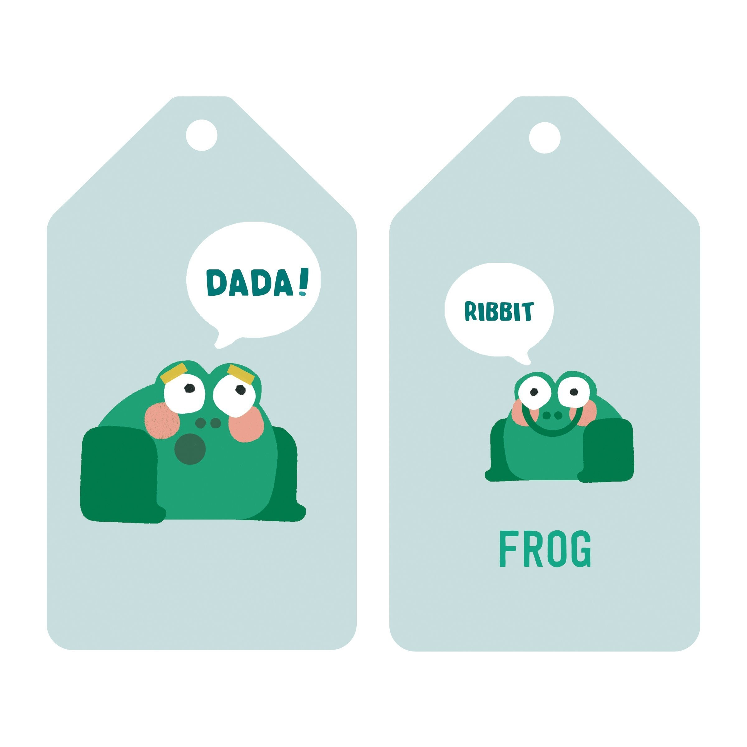 Jimmy Fallon Your Baby's First Word Will Be Dada Flash Cards Ring Flash Cards Mudpuppy