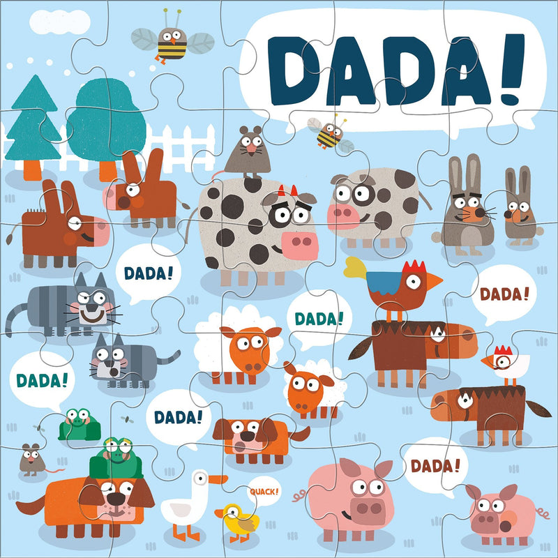 Jimmy Fallon Your Baby's First Word Will Be Dada Jumbo Puzzle Jumbo Puzzles Mudpuppy