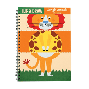 Jungle Animals Flip & Draw sale Mudpuppy