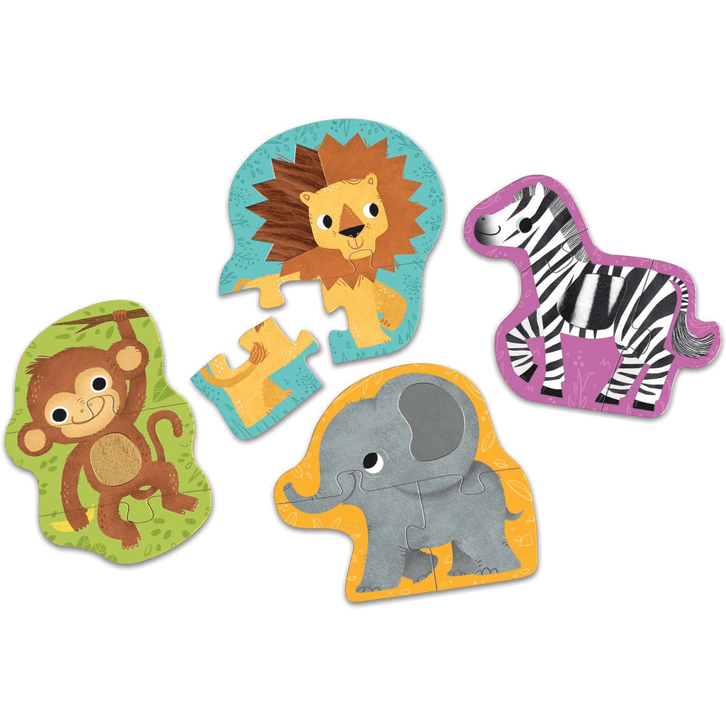 Jungle Animals My First Touch & Feel Puzzles My First Touch & Feel Puzzles Mudpuppy