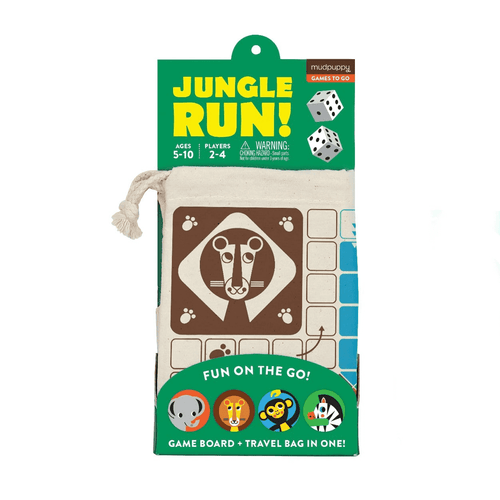 Jungle Run! Travel Game Board Games Mudpuppy