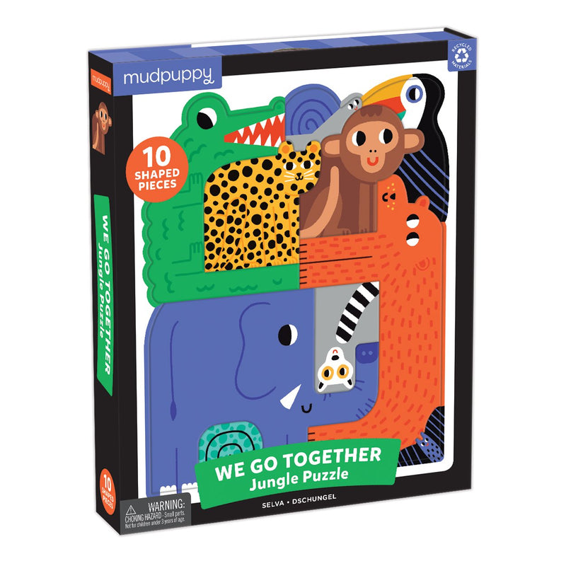 Jungle We Go Together Puzzle We Go Together Puzzles Mudpuppy
