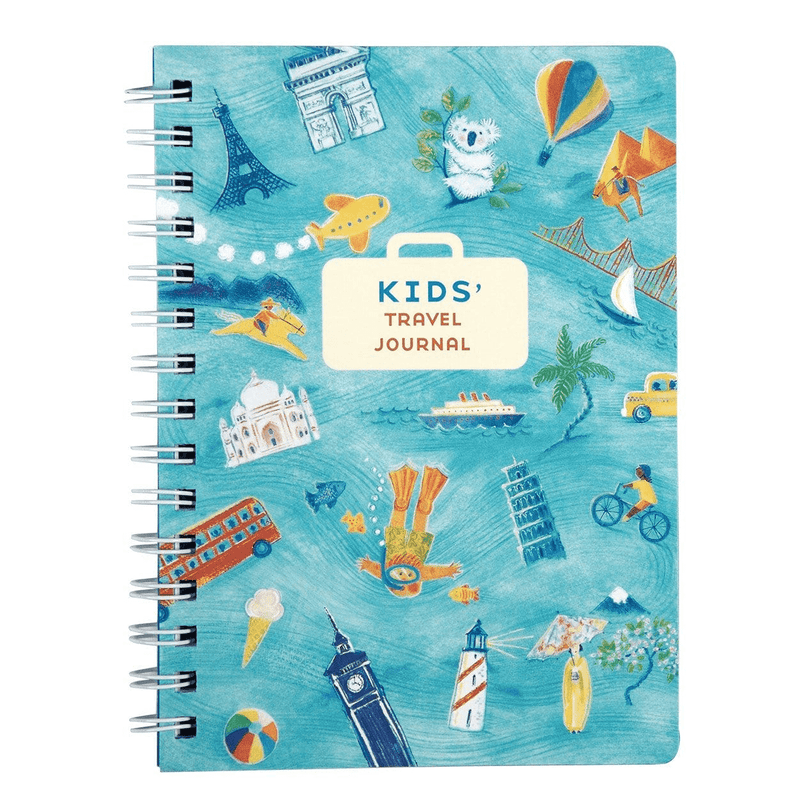 Kids' Travel Journal Activity Books Mudpuppy