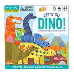 Let's Go, Dinos! Magnetic Board Game Board Games Mudpuppy