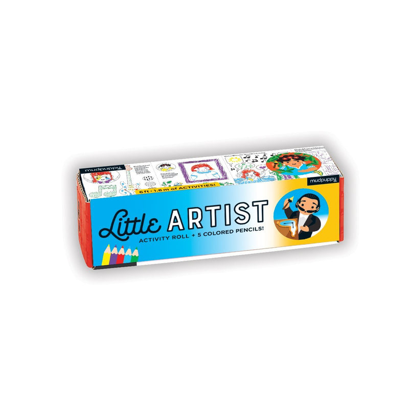 Little Artist Activity Roll Activity Rolls Mudpuppy