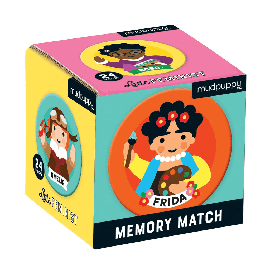 Little Feminist Mini Memory Match Game Mini Memory Match Mudpuppy