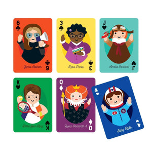 Little Feminist Playing Cards Playing Cards Mudpuppy