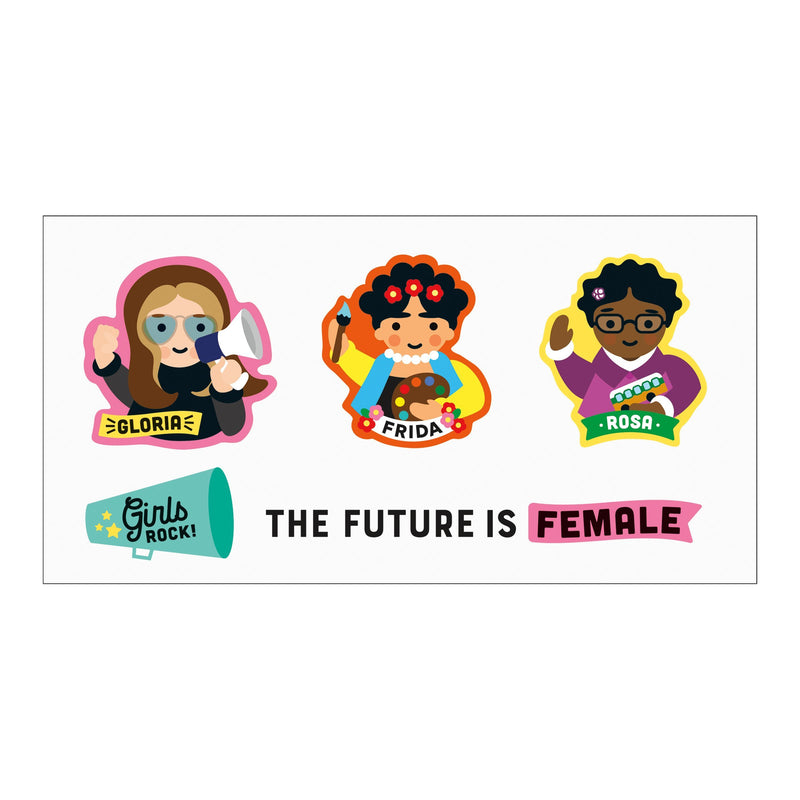 Little Feminist Temporary Tattoos Books & More Mudpuppy