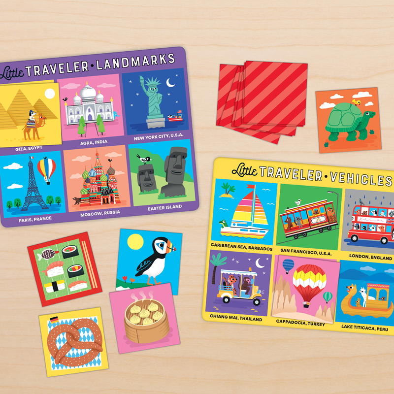 Little Traveler Bingo Board Games Little Series