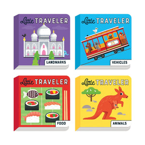 Little Traveler Board Book Set Board Books Mudpuppy