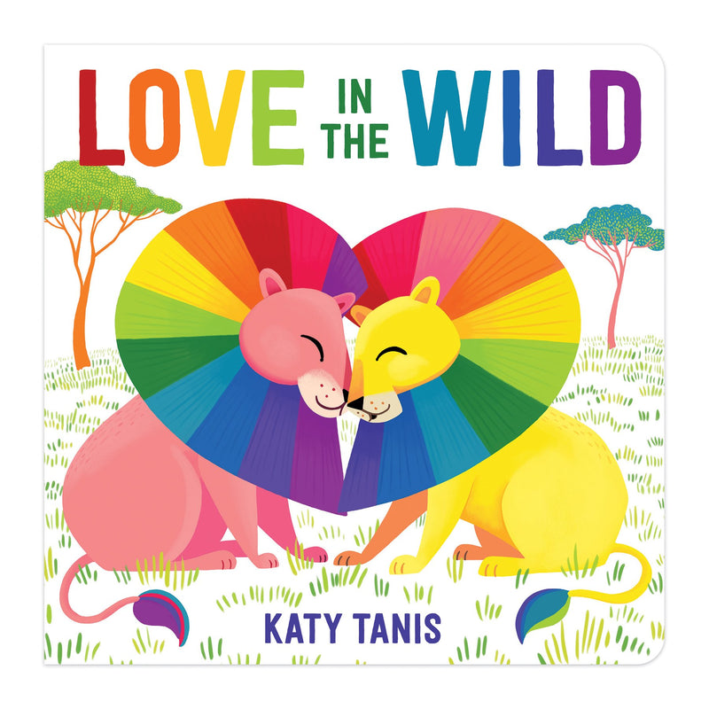 Love in the Wild Board Book Board Books Mudpuppy