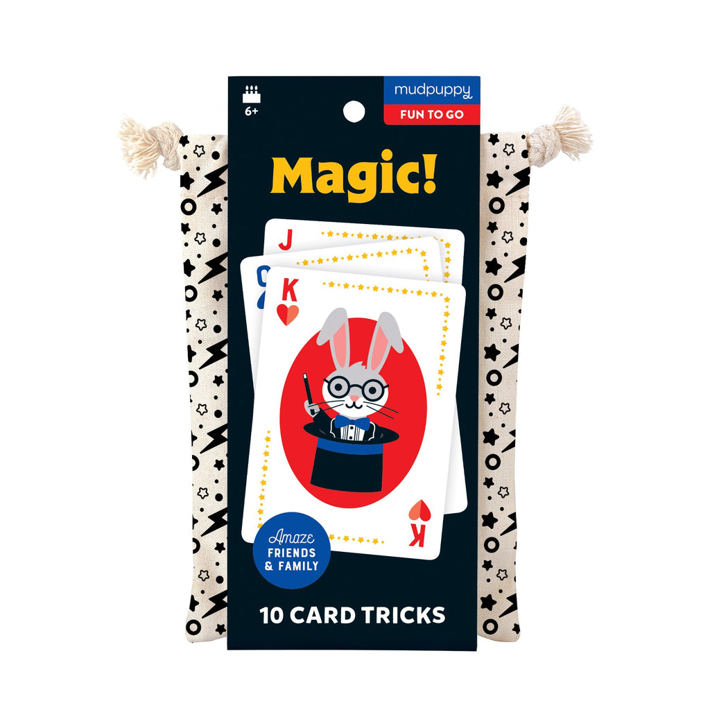 Magic! Playing Cards To-Go Playing Cards Mudpuppy