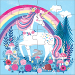 Magical Unicorn Magnetic Puzzle Magnetic Puzzles Mudpuppy
