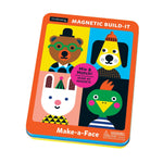 Make-a-Face Magnetic Build-It Magnetic Tin Playsets Mudpuppy
