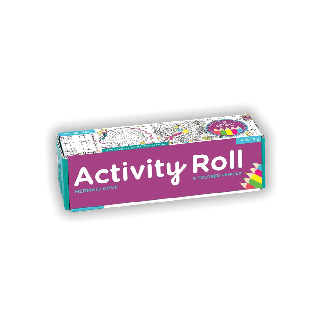 Mermaid Cove Activity Roll Activity Rolls Mudpuppy