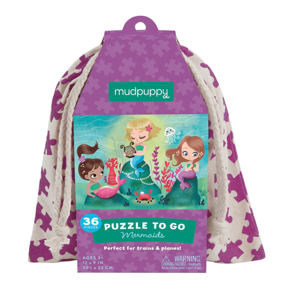 Mermaids Puzzle To Go Puzzles to go Mudpuppy
