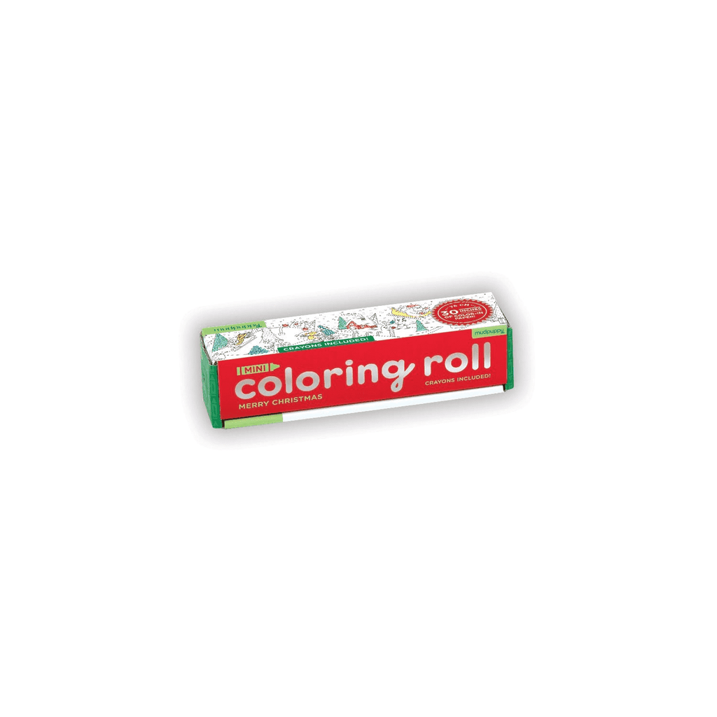 Merry Christmas Mini Coloring Roll Coloring Rolls Mudpuppy