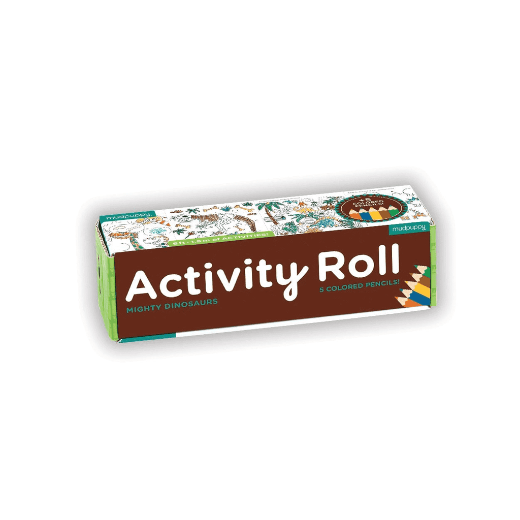 Mighty Dinosaur Activity Roll Activity Rolls Mudpuppy