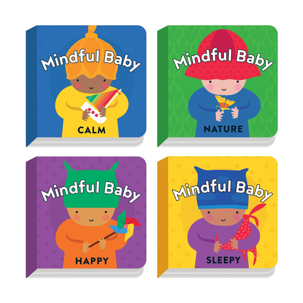 Mindful Baby Board Book Set Board Books Little Series