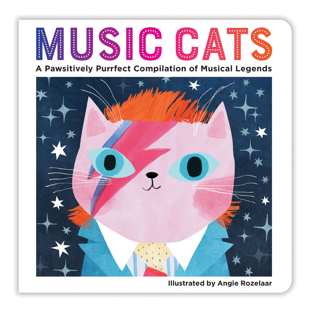 Music Cats Board Book Board Books Bookish & Artsy Cats Collection