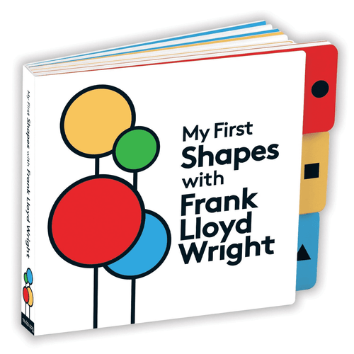 My First Shapes With Frank Lloyd Wright Board Book Board Books Mudpuppy