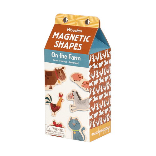 On the Farm Wooden Magnetic Set Wooden Magnetic Sets Mudpuppy