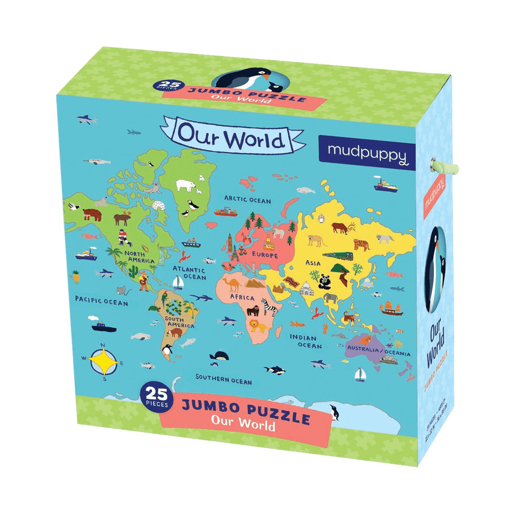 Our World Jumbo Puzzle Jumbo Puzzles Mudpuppy