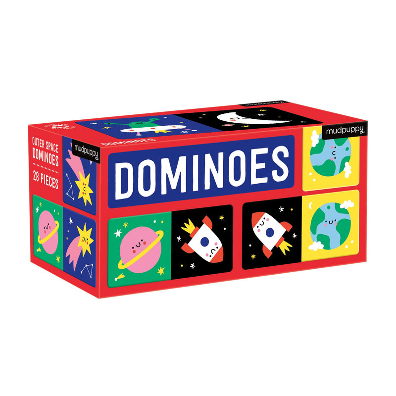 Outer Space Dominoes Dominoes Mudpuppy