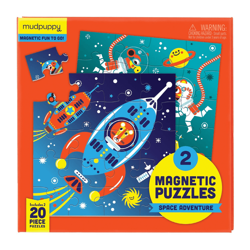 Outer Space Magnetic Puzzle Magnetic Puzzles Mudpuppy