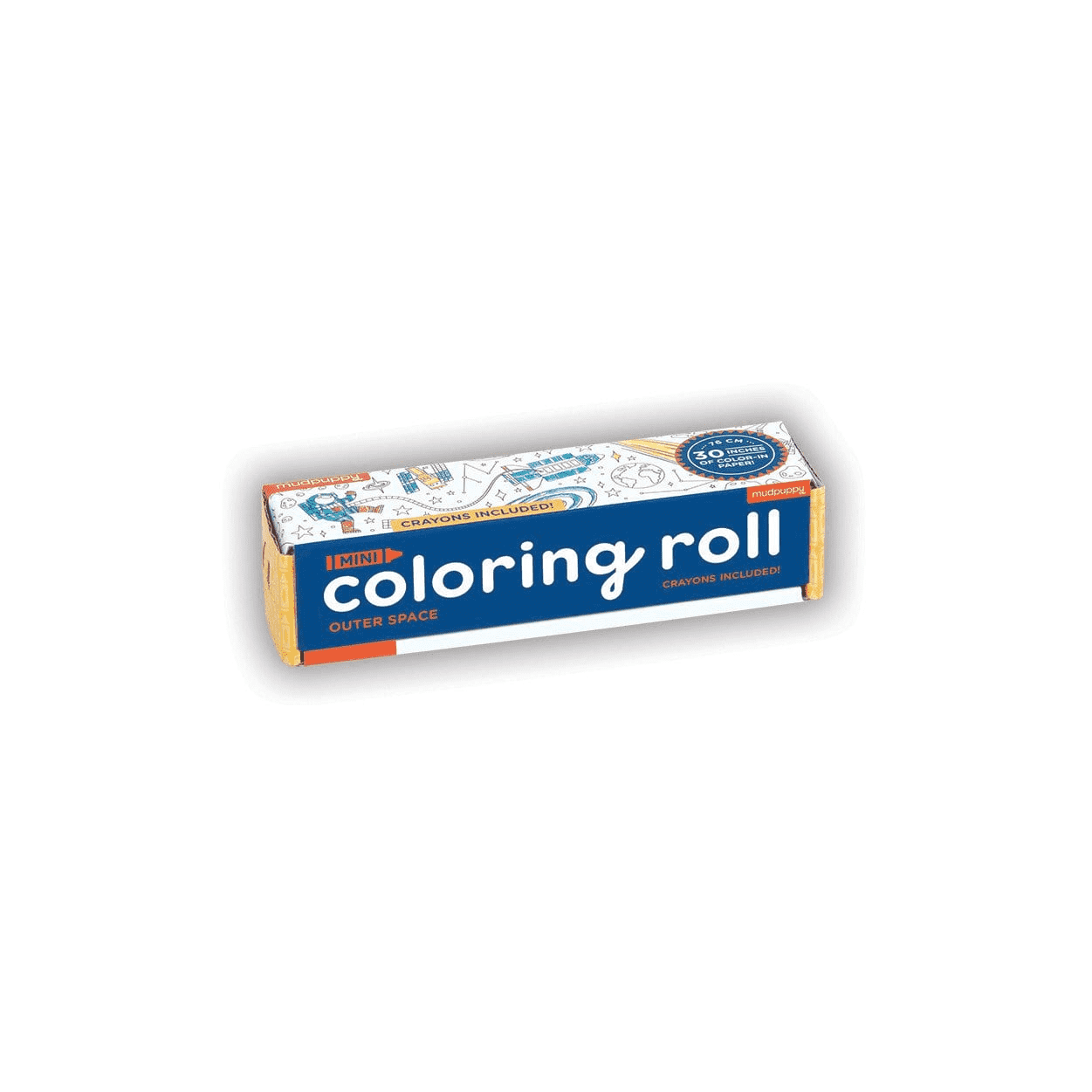 Outer Space Mini Coloring Roll Coloring Rolls Mudpuppy