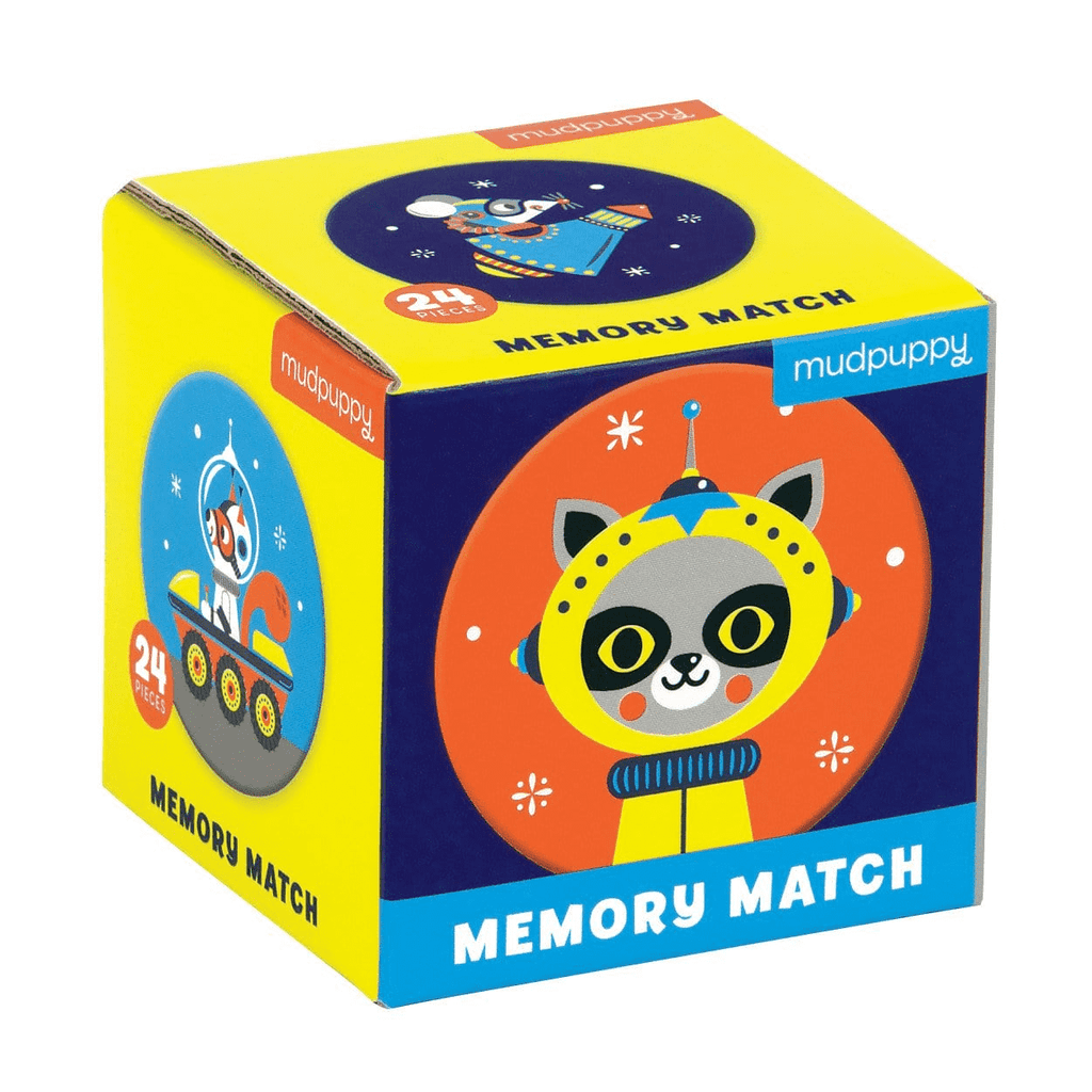 Outer Space Mini Memory Match Game Mini Memory Match Mudpuppy